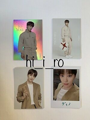 SEVENTEEN Trading card WORLD TOUR ODE TO YOU IN JAPAN - DINO (3 Cards)