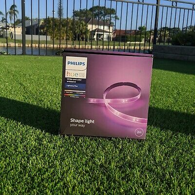 Philips Hue White & Color Ambiance Lightstrip Plus 2 metres Smart Home
