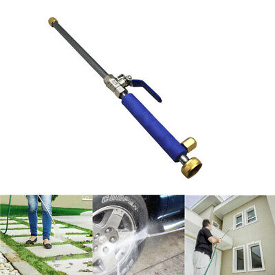"17.5"" Aluminium High Pressure Power Car Washer Spray Nozzle Water Hose Tips"