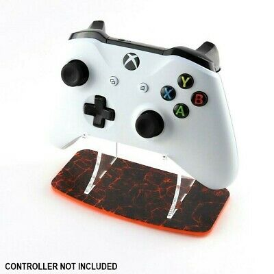 Molten Lava Xbox One Printed Acrylic Controller Display Stand - Gaming Displays