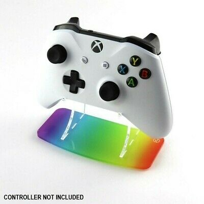 Rainbow Xbox One Printed Acrylic Controller Display Stand - Gaming Displays