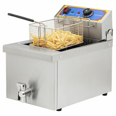Commercial Deep Fryer Electric 10 Litre 3kW - Cold Zone
