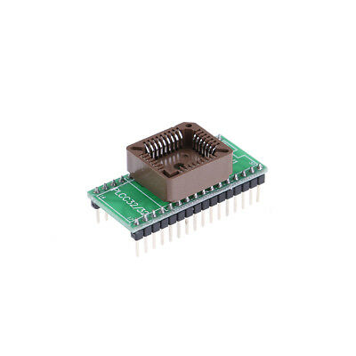 Plcc32 to dip32 programmer adapter ic socket converter module