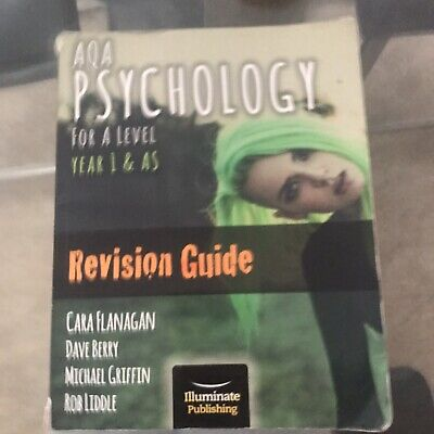 aqa psychology revision guide Year 1 & AS For A Level