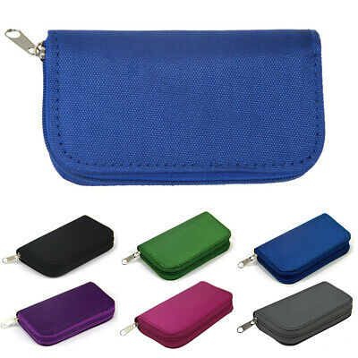 Memory Card Case 22 - for SD SDHC CF SM Protective Storage Holder Pouch Wallet