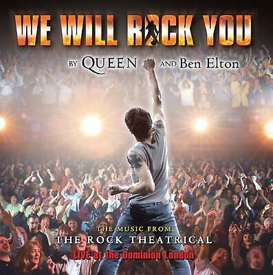 We Will Rock You - Music The Rock Theatrical Live [CD] Sent Sameday*