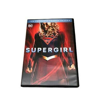 Brand New Supergirl Complete Season 4 4Th Four (Dvd) Free Shipping!