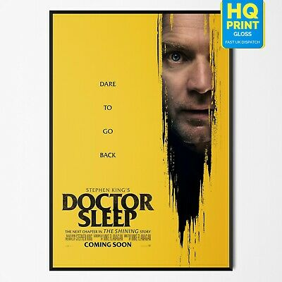 Doctor Sleep 2019 Stephen King Horror/Thriller Movie 2019 Poster #2 A4 A3 A2 A1