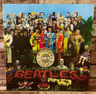 The Beatles Sgt. Pepper's Lonely Hearts Club Band Vinyl