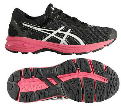 ASICS WOMENS RUNNING Trainers Asics GT1000 GS Fitness Gym