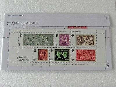 2019 GB Royal Mail Mint Classic Stamps, Presentation Pack N0.566 - NEW, unopened