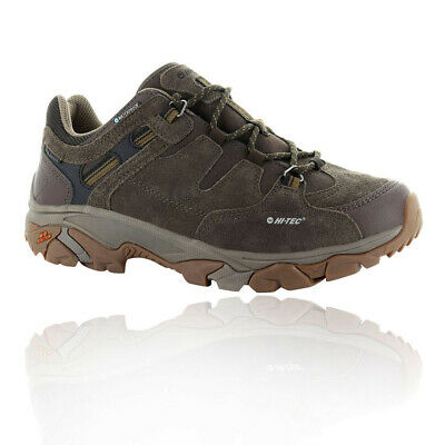 Hi-Tec Mens Ravus Adventure Low Walking Shoes Brown Sports Outdoors Trainers