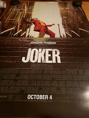 "JOKER (2019) ***Original Movie Poster Double-Sided 27""x40"""
