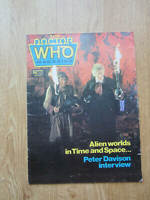 Doctor Who  Magazine Marvel  #106   Peter Davison Young Chris Chibnall mention!