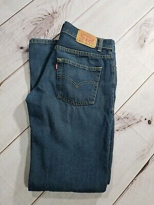 Levis 511 Jeans Slim Fit Straight Leg Stretch Boys Size 20 Mens Reg 30x30