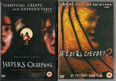 Bundle of 2 Horror DVDs - Jeepers Creepers & Jeepers Creepers 2