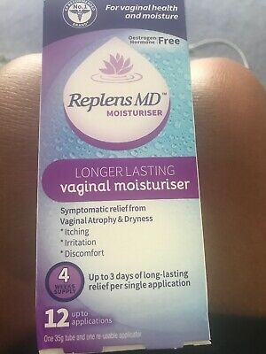 Replens MD Vaginal Moisturiser with 12 Applications