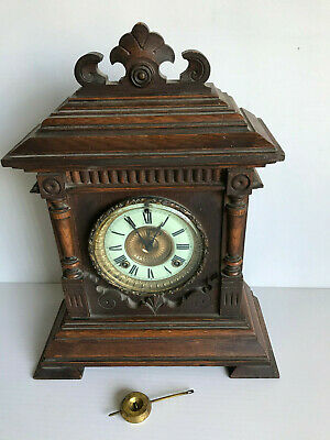 Antique Ansonia American Mantle Clock