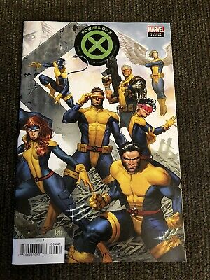 Powers Of X 4 2919 Jorge Molina Connecting Variant Nm