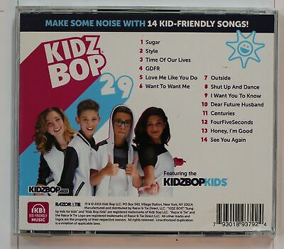 Kidz Bop Kids Kidz Bop 29 (Biggest Hits Sung By Kids For Kids) US CD 2015