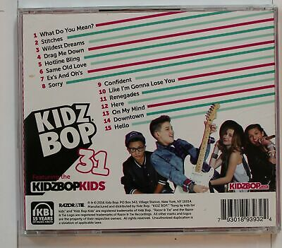 Kidz Bop Kids Kidz Bop 31 (Biggest Hits Sung By Kids For Kids) US CD 2016