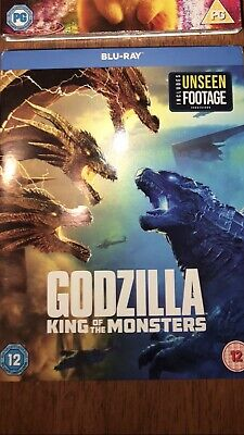 Godzilla: King of the Monsters [2019] (Blu-ray) Kyle Chandler New And Sealed