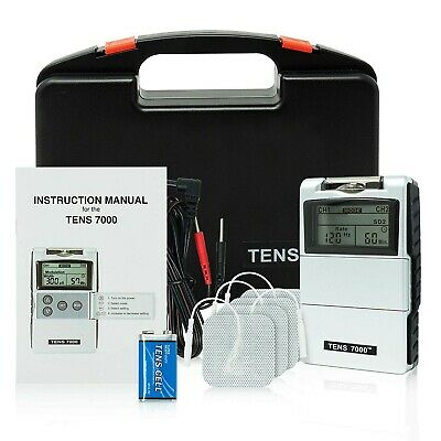 TENS 7000 2nd Edition Digital TENS Unit with Accessories ..NEW...FREE SHIPPING..