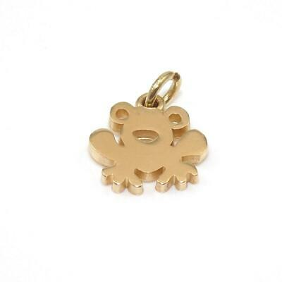 James Avery Retired 14K Yellow Gold Frog Charm