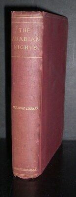 ANTIQUE  hb. THE ARABIAN NIGHTS ENTERTAINMENTS, translated from the arabic