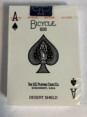 Bicycle Desert Shield Secret Weapon Playing Card Deck Collectible Aces of Spades