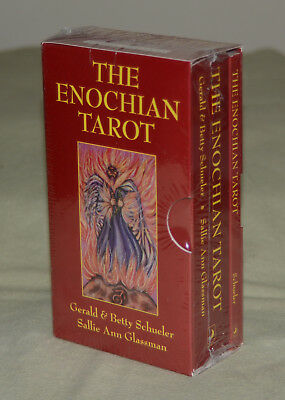"SALE!! The Enochian Tarot Cards Deck & Book Box Set ""Red Box"" **NEW & SEALED**"