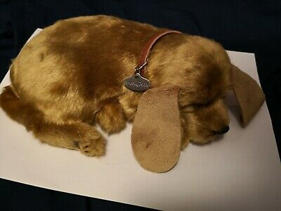 Perfect petzzz Cute sleeping Dog (New Battery included)