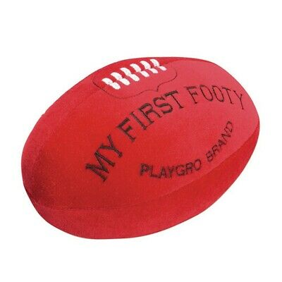 New My First Footy (Orig) Playgro Infant Kids Baby Safe Toddler Toy Fun