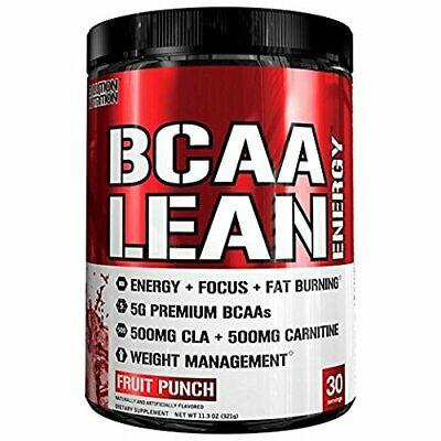 Evlution Nutrition BCAA Lean Energy - Energizing Amino Acid For Muscle Building