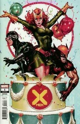X-Men #1 Brooks Party Variant Cover Oct 2019 Jonathan Hickman New Series