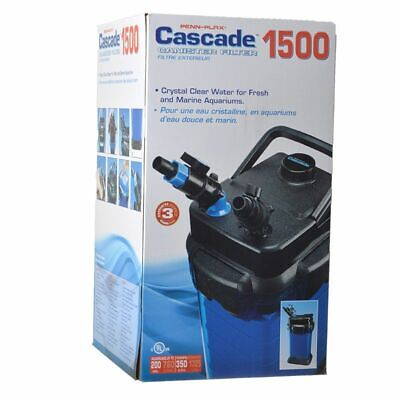 LM Cascade Aquarium Canister Filters 1500 - 200 Gallons (350 GPH)