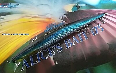 RR102 COLOR NEW BY BLUSPIN JERK BAIT REAL ROGOS 105 17g 105mm SINKING