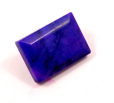 Dyed Faceted Blue Sapphire Cut Loose Gemstones  87 CT 30X20 mm RM13043