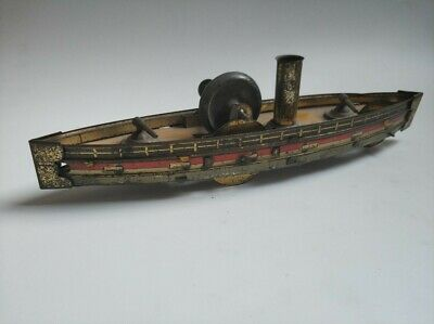 Antique Original Hess War Ship. 1910