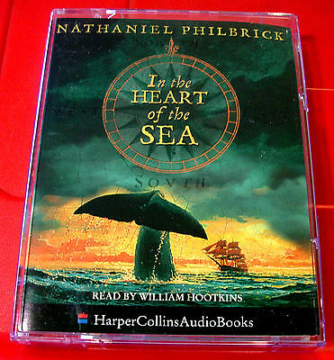 Nathaniel Philbrick In..Heart Of The Sea Audio William Hootkins True Moby Dick