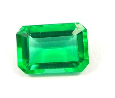 Treated Faceted Emerald Gemstone15CT 12x12mm NG16071