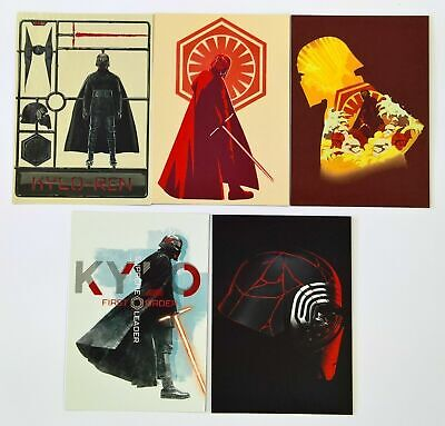 Topps Star Wars Rise Of Skywalker - Kylo Ren Continuity Cards #1-10