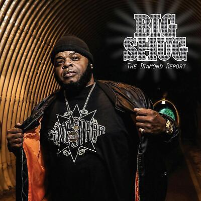 Big Shug - The Diamond Report CD ALBUM  NEW(15THNOV)