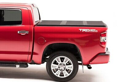 Fits Toyota Tundra 07 13 6 1 2 Ft 83951 With Rail System Extang Solid Fold 2 0 Hard Folding Truck Bed Tonneau Cover