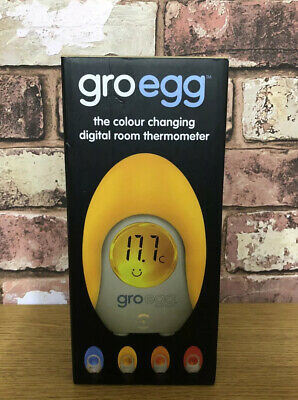 Gro-Egg The Colour Changing Digital Room Thermometer