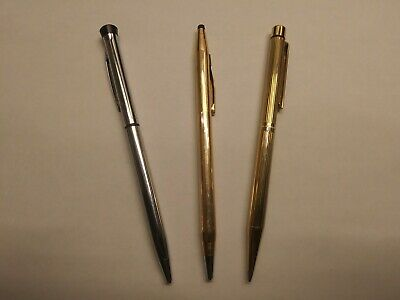 Lot of 3 cross,sheaffer,garland, pen,  pencil