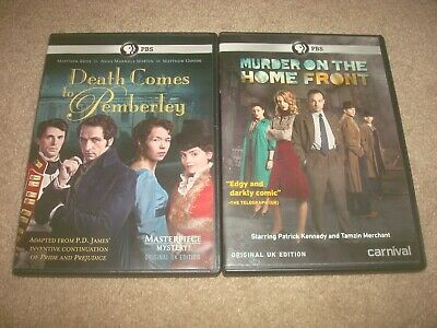 Murder on the Home Front + Death Comes to Pemberley DVD LOT Mystery PBS BBC UK