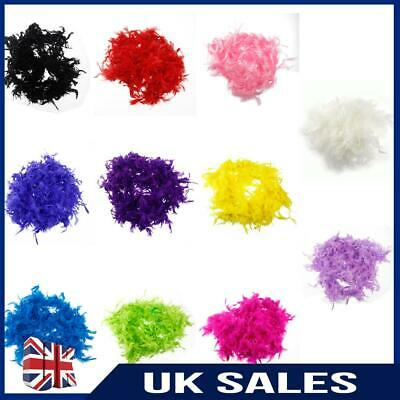 180cm Feather Boa Fancy Burlesque Accessory Deluxe Showgirl Hen Dress Night UK