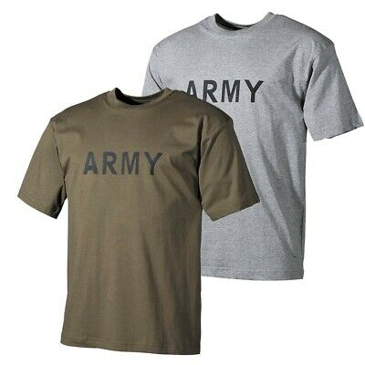 Tee-Shirt Army Militaire Outdoor Paintball Armee