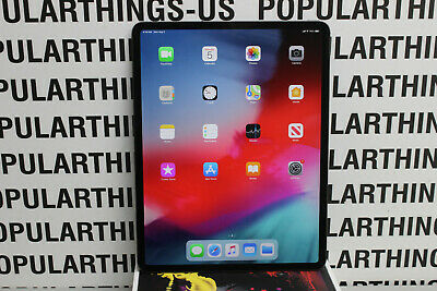 Apple iPad Pro 3rd Gen. 256GB, Wi-Fi + Cellular (AT&T) 12.9in Tablet -Gray AS IS